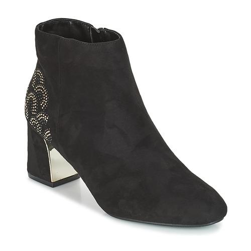 Chaussures Femme Bottines Moony Mood JASMINA Noir