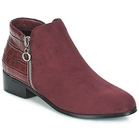 Chaussures Femme Boots Moony Mood JADE Bordeau