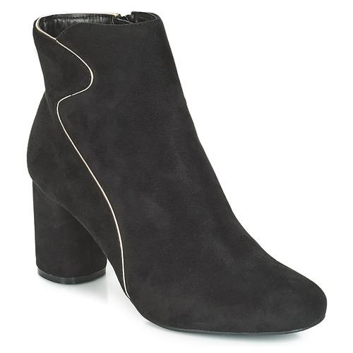 Chaussures Femme Bottines Moony Mood JUDY Noir