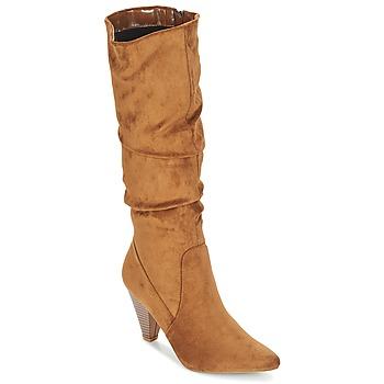 Chaussures Femme Bottes ville Moony Mood JULMA Marron