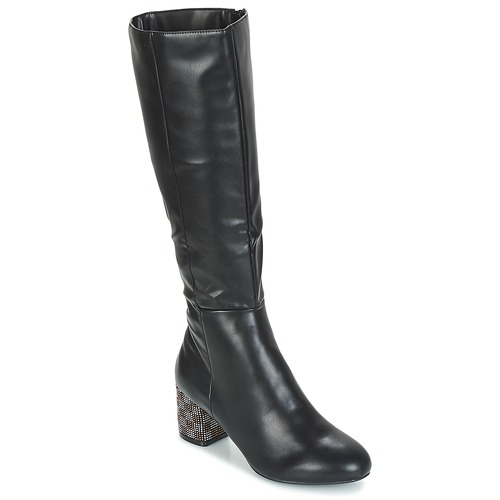 Chaussures Femme Bottes ville Moony Mood JISMIA Noir