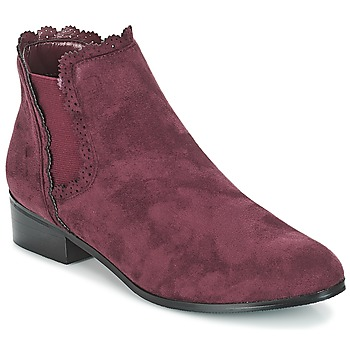 Chaussures Femme Boots Moony Mood JERMA Aubergine