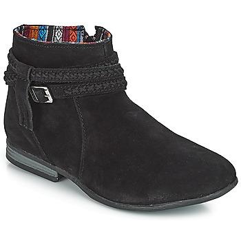 Chaussures Femme Boots Minnetonka DIXON BOOT Noir