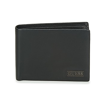 Sacs Homme Portefeuilles Guess NEW BOSTON BILLFOLD W/COIN POCKET Noir