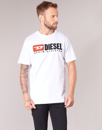 Vêtements Homme T-shirts manches courtes Diesel T JUST DIVISION Blanc
