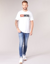 Vêtements Homme Jeans skinny Diesel SLEENKER Bleu 084YK