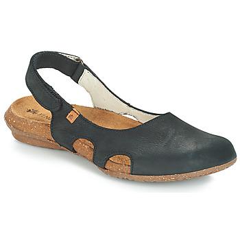 Chaussures Femme Sandales et Nu-pieds El Naturalista WAKATAUA Noir
