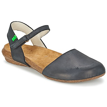 Chaussures Air max tnFemme Sandales et Nu-pieds El Naturalista WAKATAUA Noir
