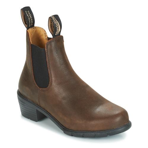 Chaussures Femme Boots Blundstone WOMEN'S HEEL CHELSEA BOOT Marron