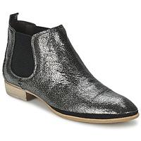 Chaussures Air max tnFemme Boots Un Matin d'Ete TOBAGO Noir / Argenté