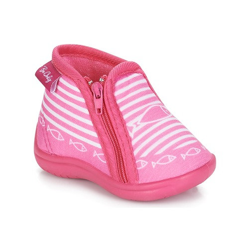 Chaussures Fille Chaussons Be Only TIMOUSSON Rose