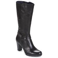 Chaussures Femme Bottes ville Dorking REINA Noir