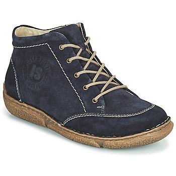 Chaussures Femme Boots Josef Seibel NEELE 01 Marine