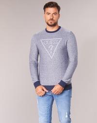Vêtements Homme Pulls Guess TAMAC Bleu