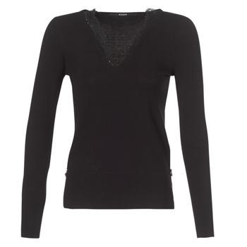 Vêtements Femme Pulls Guess BETH Noir