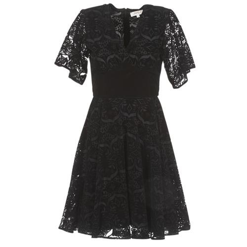 Vêtements Femme Robes courtes Derhy DAMOISELLE Noir