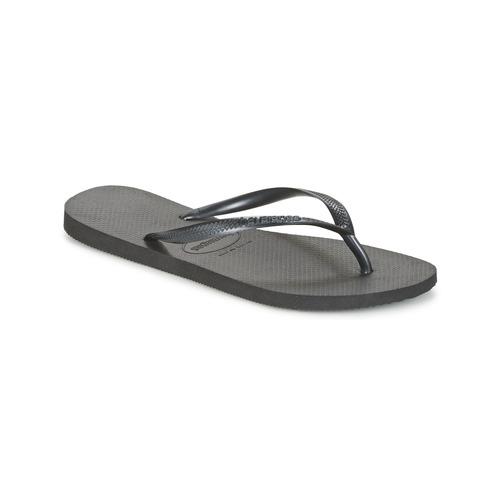 Chaussures Femme Tongs Havaianas SLIM Noir