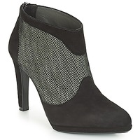 Chaussures Femme Bottines Peter Kaiser PATRINA Noir / Gris