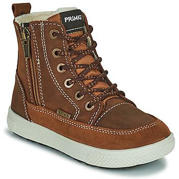 Chaussures Garçon Bottes de neige Primigi PCA 24130 Marron