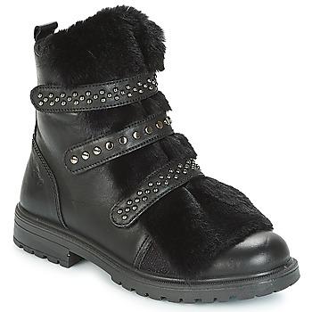 Chaussures Fille Boots Primigi CHRIS Noir