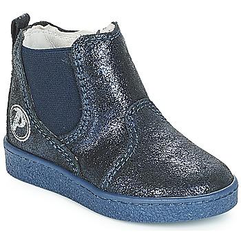 Chaussures Fille Boots Primigi WODY Bleu