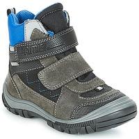 Chaussures Garçon Bottes de neige Primigi (enfant) PNA 24355 GORE-TEX Gris / Bleu