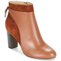 Chaussures Femme Bottines Jonak BEAR Cognac
