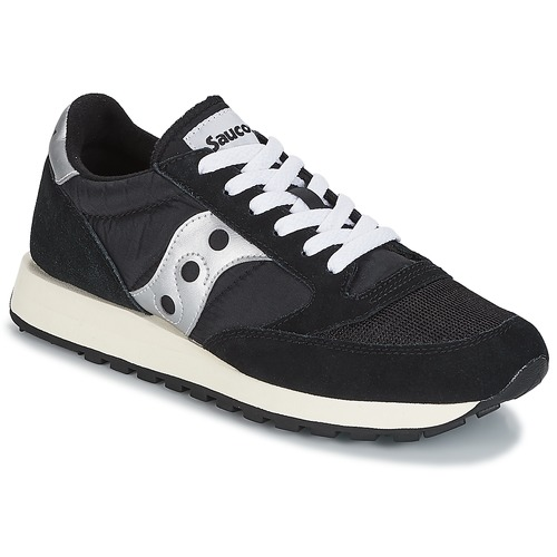 Chaussures Baskets basses Saucony JAZZ ORIGINAL VINTAGE Noir / Blanc