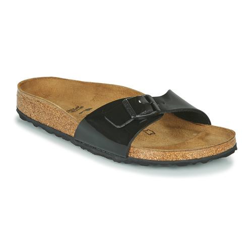 Chaussures Femme Mules Birkenstock MADRID Noir Vernis