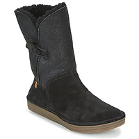 Chaussures Femme Boots El Naturalista RICE FIELD BLACK
