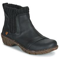 Chaussures Femme Boots El Naturalista YGGDRASIL BLACK