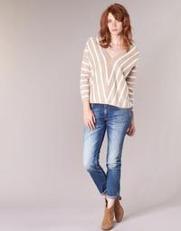 Vêtements Femme Jeans slim Le Temps des Cerises HERITAGE Bleu medium