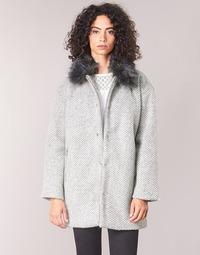 Vêtements Femme Manteaux Le Temps des Cerises DUCHESSE Gris