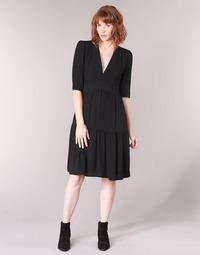 Vêtements Femme Robes longues See U Soon CUICO Noir