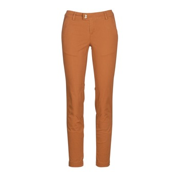 Vêtements Femme Chinos / Carrots LPB Woman VAWO Cognac
