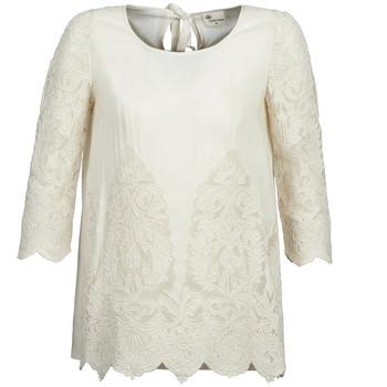 Vêtements Femme Tops / Blouses Stella Forest AELEZIG Ecru