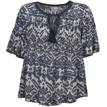 Vêtements Femme Tops / Blouses Stella Forest ANNAICK Ecru / Bleu