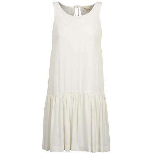 Vêtements Femme Robes courtes Stella Forest DELFINEZ Ecru