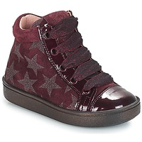 Chaussures Fille Baskets montantes Acebo's MASSA Bordeaux