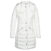 Vêtements Femme Doudounes Desigual INGA Blanc