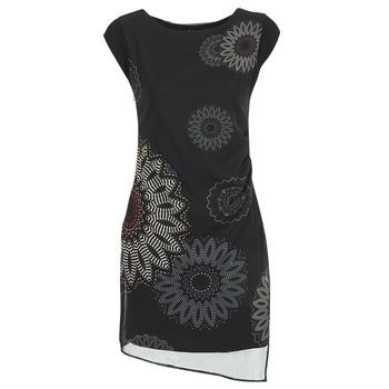 Vêtements Femme Robes courtes Desigual SANDRINI Noir