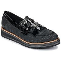Chaussures Femme Mocassins Regard RUVOLO V1 ZIP NERO Noir