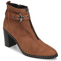 Chaussures Femme Bottines Philippe Morvan AXEL V4 CHEV VEL Camel