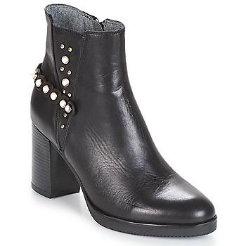 Chaussures Femme Bottines Metamorf'Ose DAMOISEAU Noir