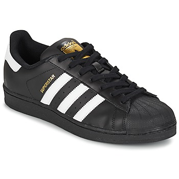Chaussures Homme Baskets basses adidas Originals SUPERSTAR FOUNDATIO Blanc / noir
