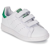 Chaussures Air max tnEnfant Baskets basses adidas Originals STAN SMITH CF C Blanc / Vert