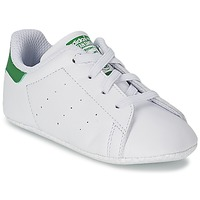Chaussures Air max tnEnfant Baskets basses adidas Originals STAN SMITH CRIB Blanc / Vert