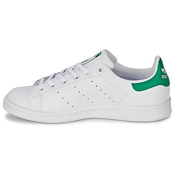 adidas Originals STAN SMITH J Blanc / Vert