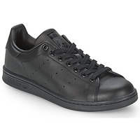 Chaussures Baskets basses adidas Originals STAN SMITH Noir