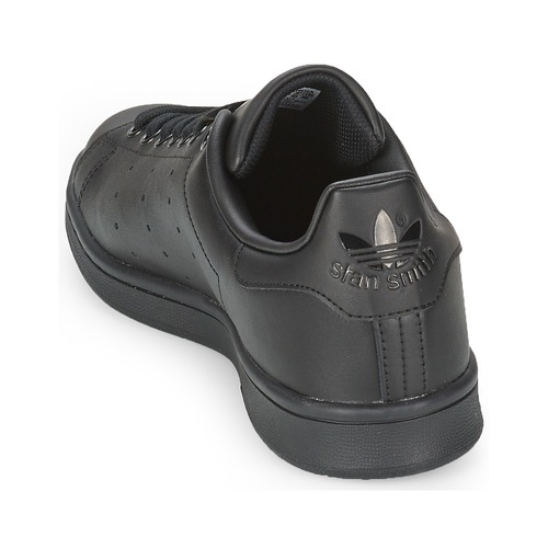 adidas Originals STAN SMITH Noir - Chaussure pas cher avec- Chaussures Baskets basses 7599 jo2BoMeh